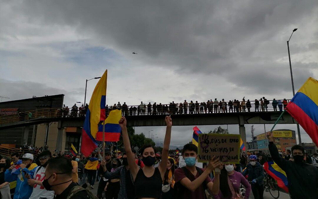 Comunicados del Comité Nacional de Paro en el marco de las movilizaciones en Colombia