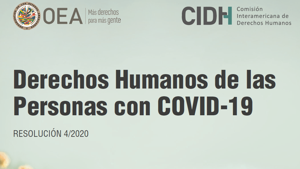 Derechos Humanos de las personas con Covid-19